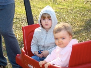 Girls in the Wagon